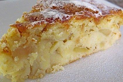 Apfel - Frischkäse - Rührkuchen #apfelmuffinsrezepte