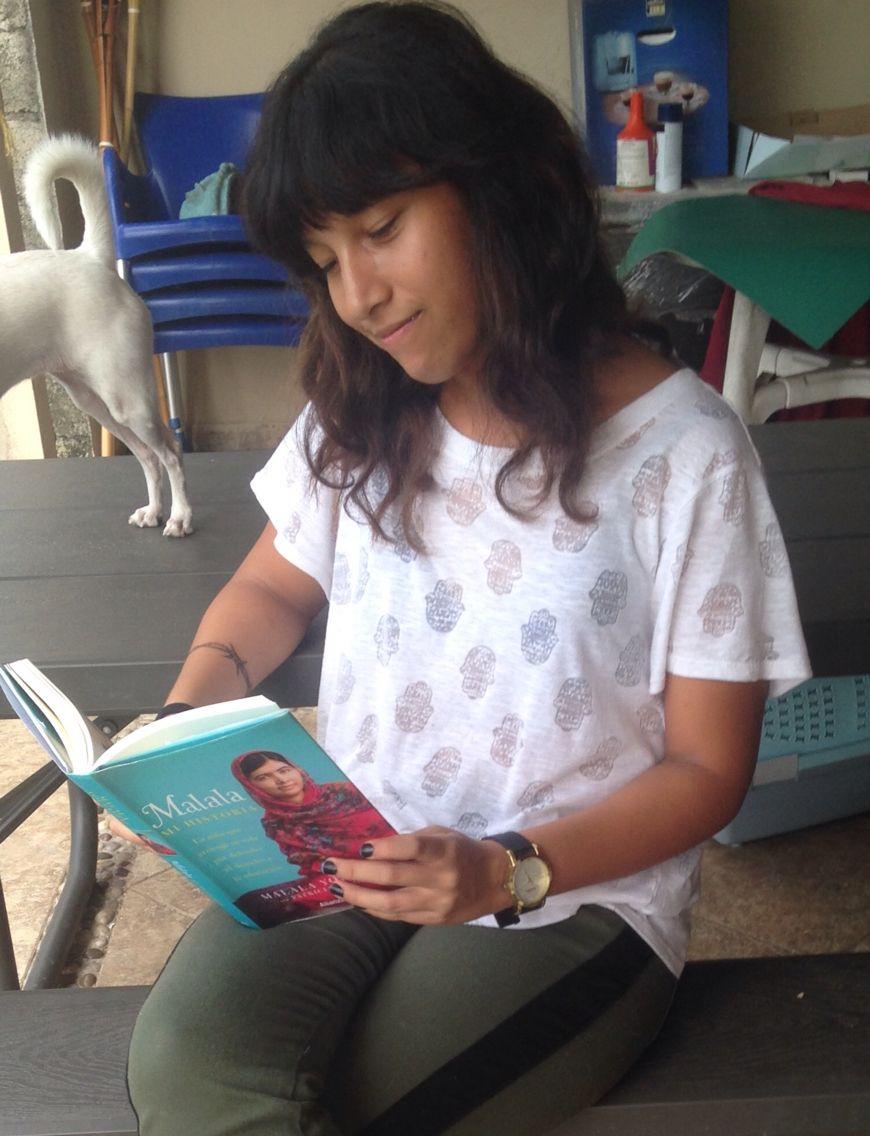 #GIRLWITHABOOK  Panamá  Malala mi historia por Malala Yousafzai y Patricia McCormick