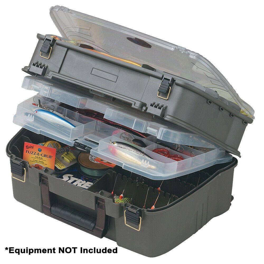 Plano Moulding 1001-03 Green Tackle Box