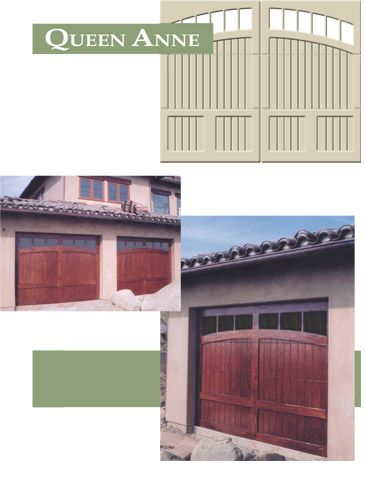 Sunwood Custom Garage Doors Queen Anne Beautiful Wood Doors