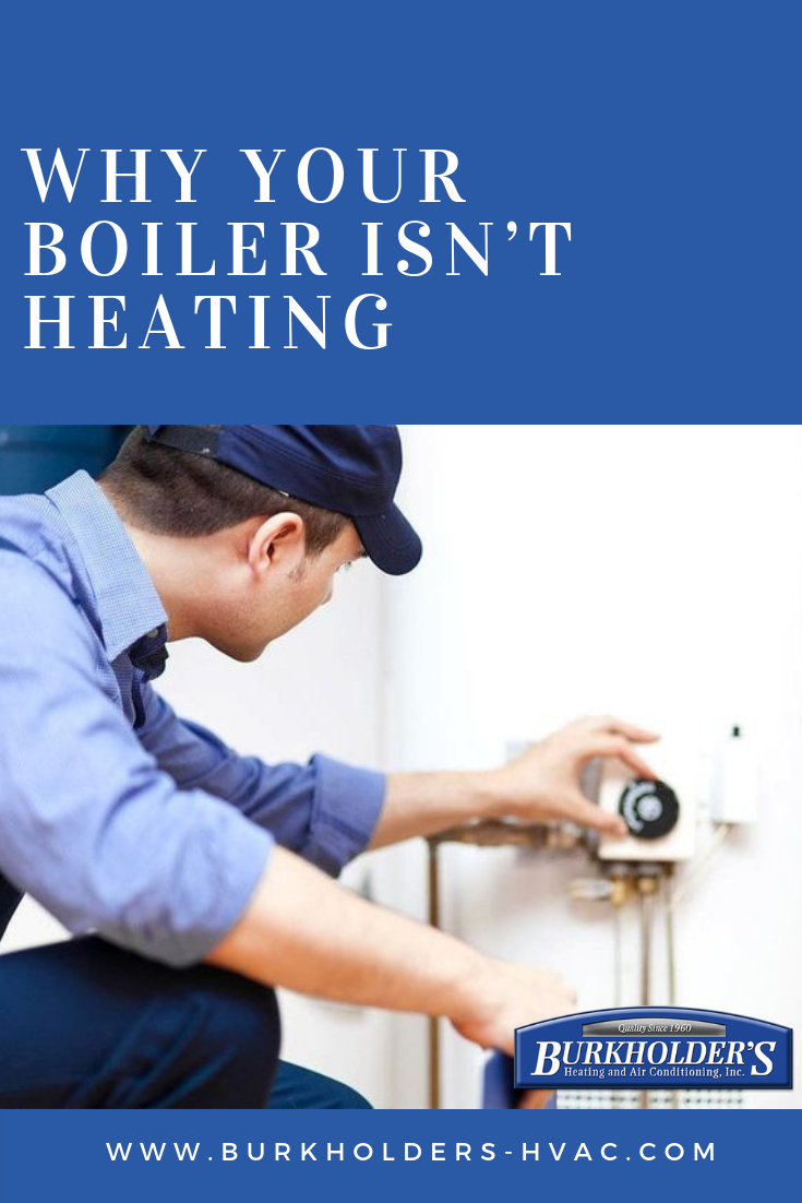 If your boiler isn't firing up for central heating or hot