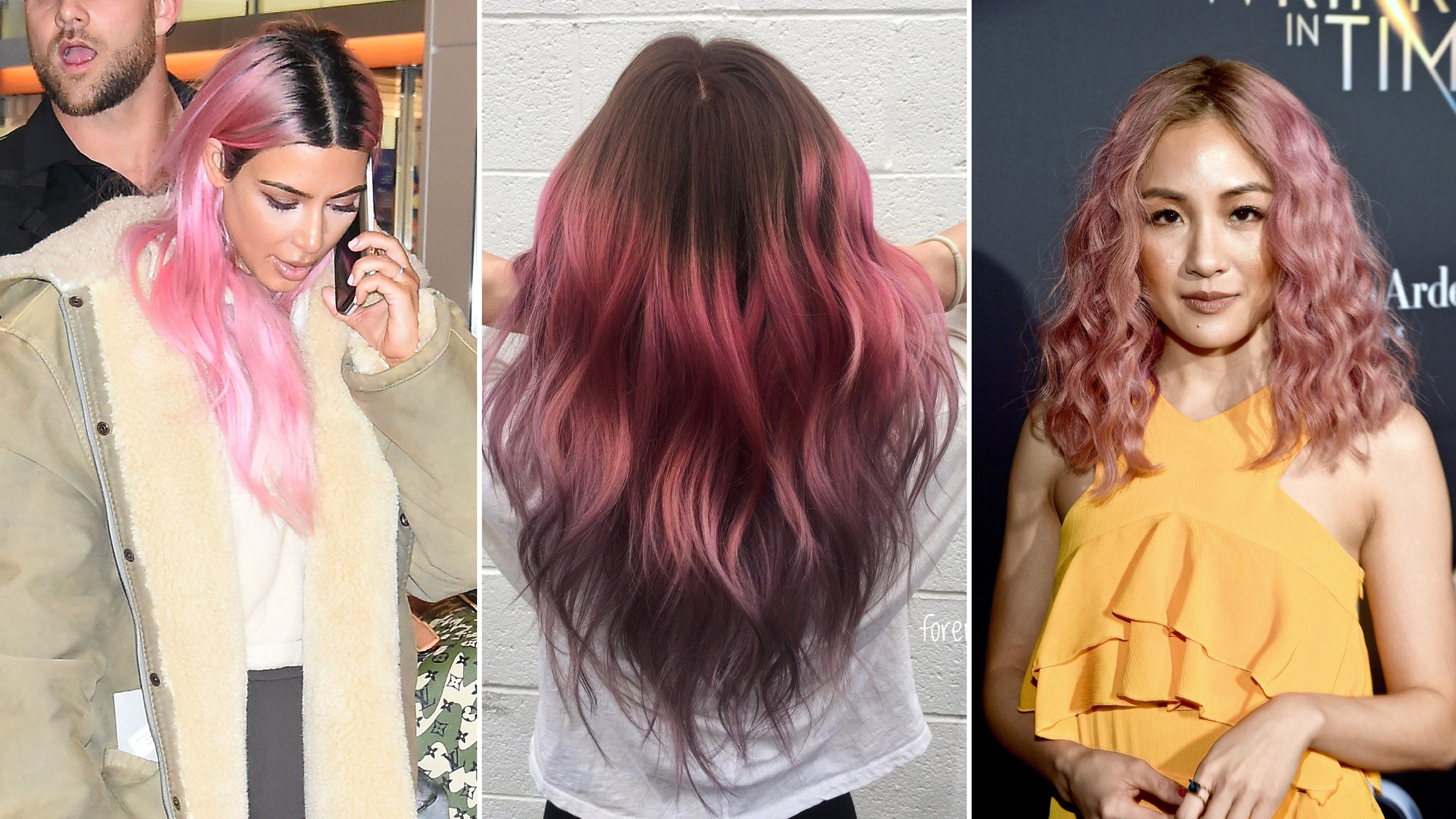 The Big Reason You Shouldn T Bleach Your Roots If You Want Rainbow Hair Hair Color Pink Pink Hair Dye Bleached Hair