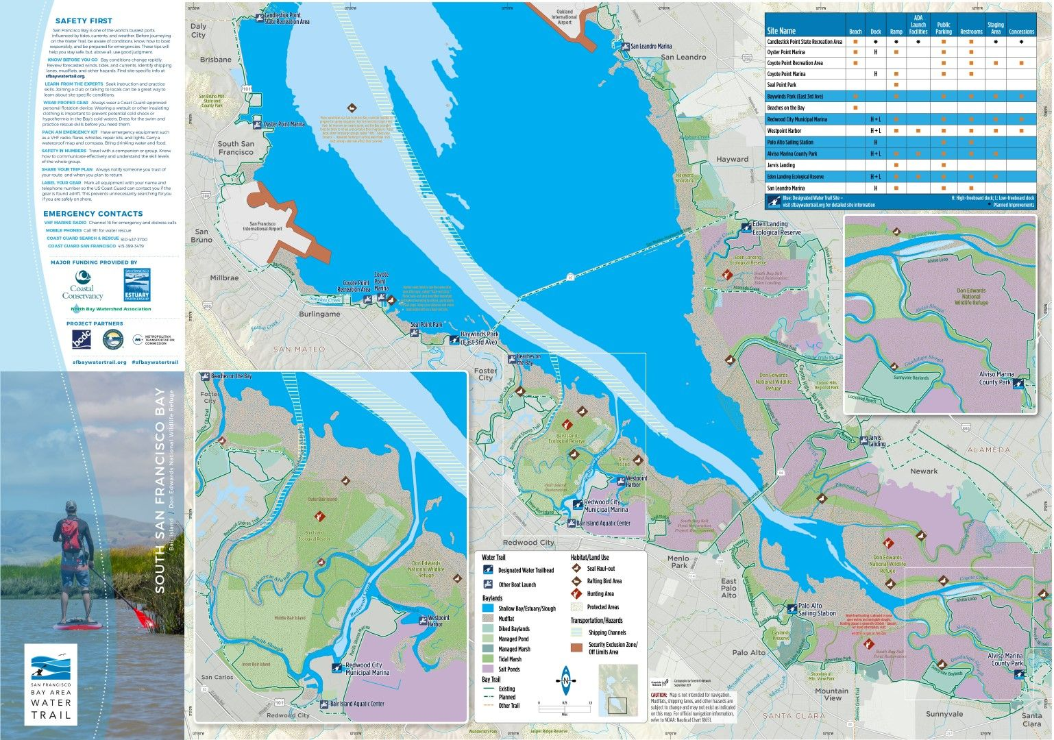 Pdf Maps Bay Water Trail With Images Plan Your Trip San Pablo Bay Suisun City