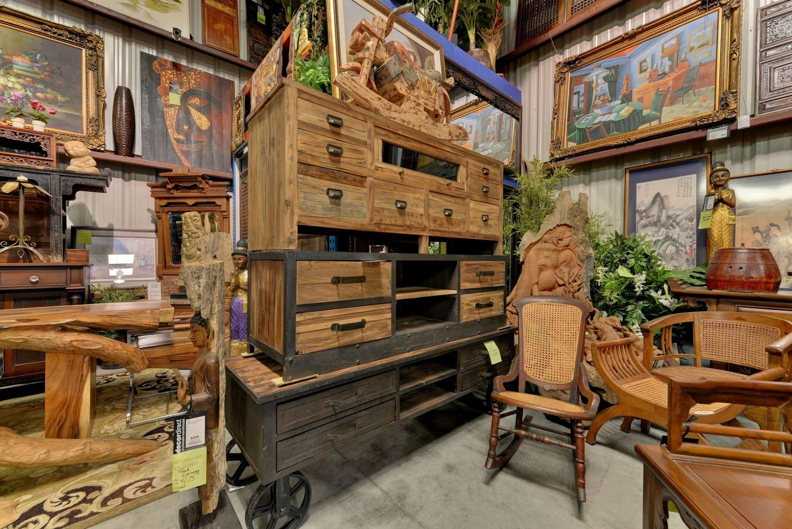 Slab Artisan Wood Furniture Decor Direct Sarasota Fl