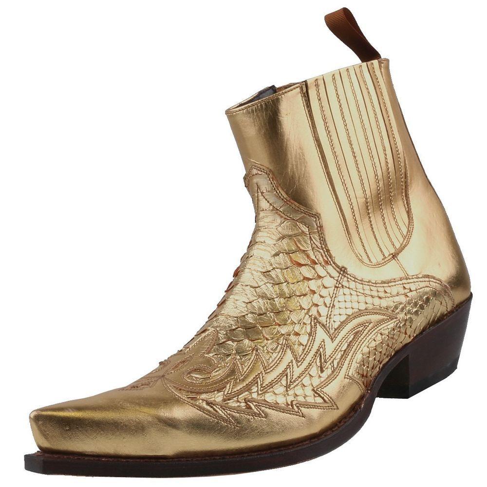 Neu SENDRA BOOTS Herrenschuhe Herren-Stiefel Lederstiefel Stiefeletten Schuhe