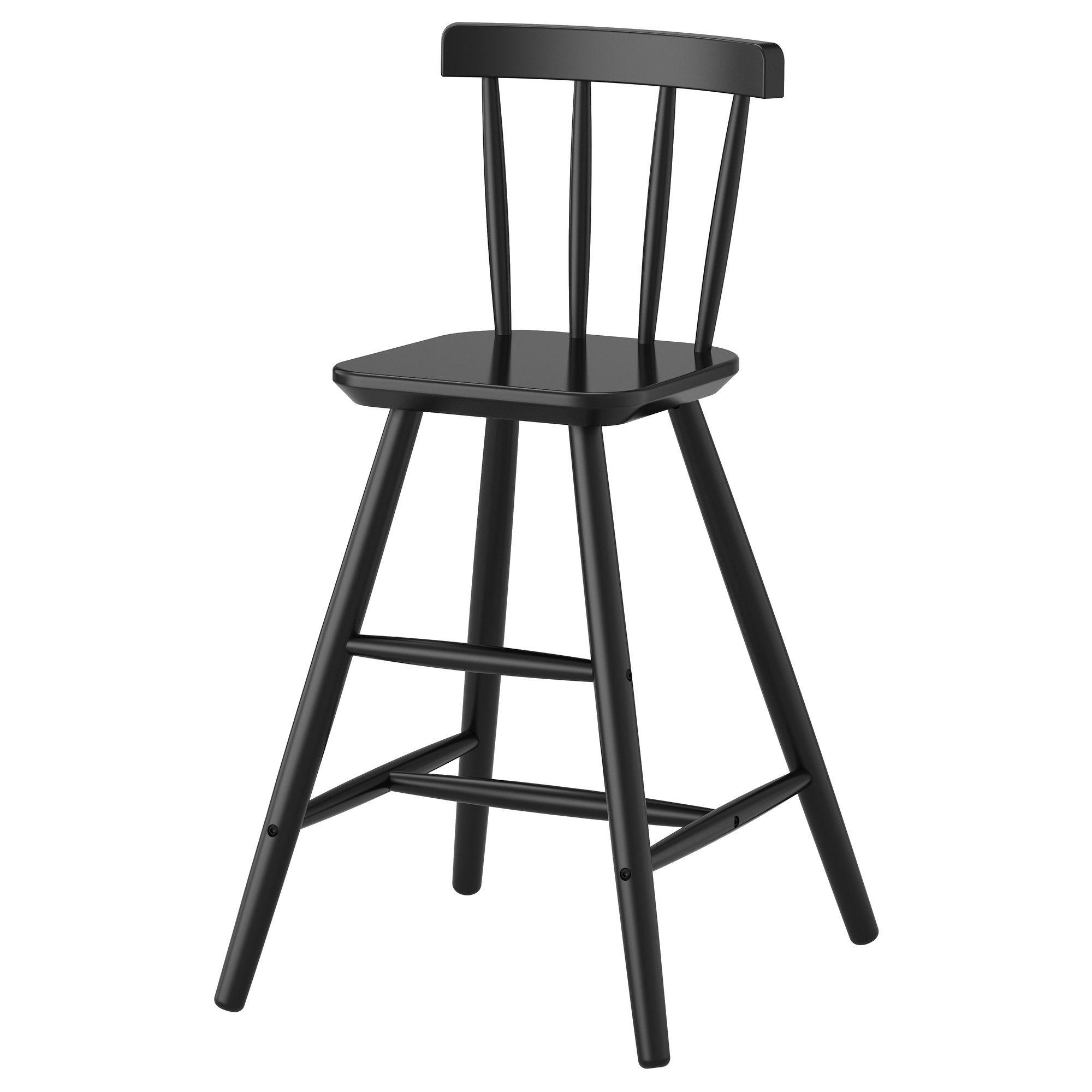 Astonishing Agam Junior Chair Black Kitchen Dining Ikea Junior Andrewgaddart Wooden Chair Designs For Living Room Andrewgaddartcom