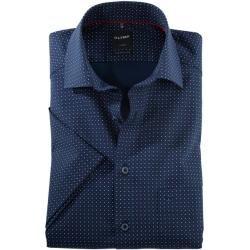 Olymp Luxor Kurzarmhemd, modern fit, Global Kent, Rot, 42 Olymp #afrikanischekleidung