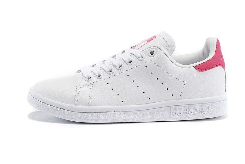 size 40 2e9f4 b479c Adidas Originals D67363 Stan Smith Shoes Men s Women s White Pink