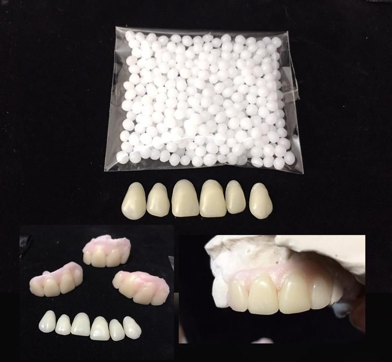 Missing tooth kit select your teeth front flipper denture