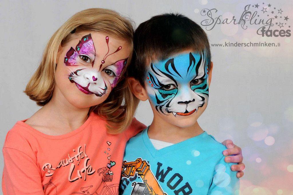 Kinderschminken bei der preisgekrönten Facepainterin und
