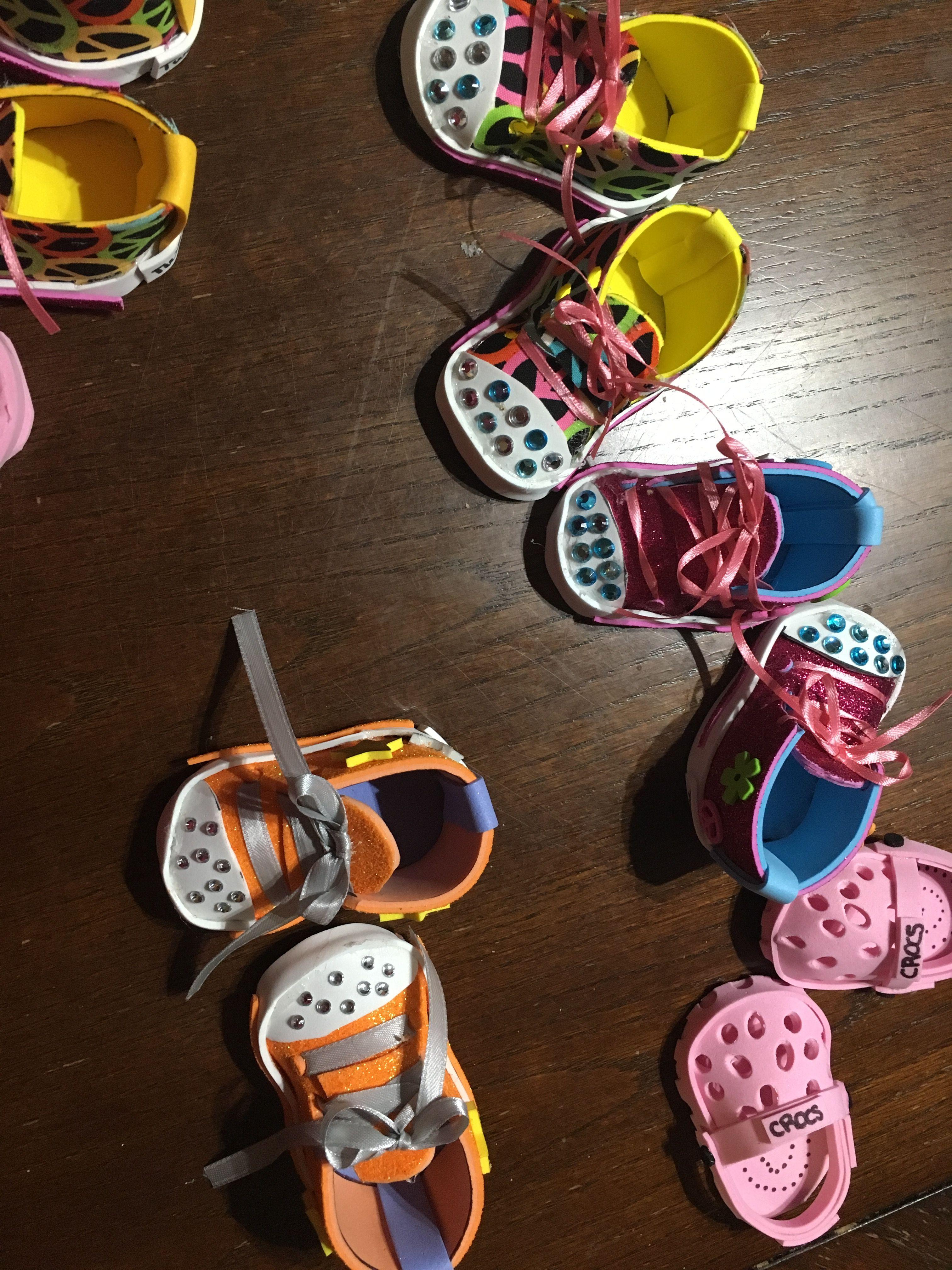 f012f8b7b85e Twinkle toes diy American girl doll shoes