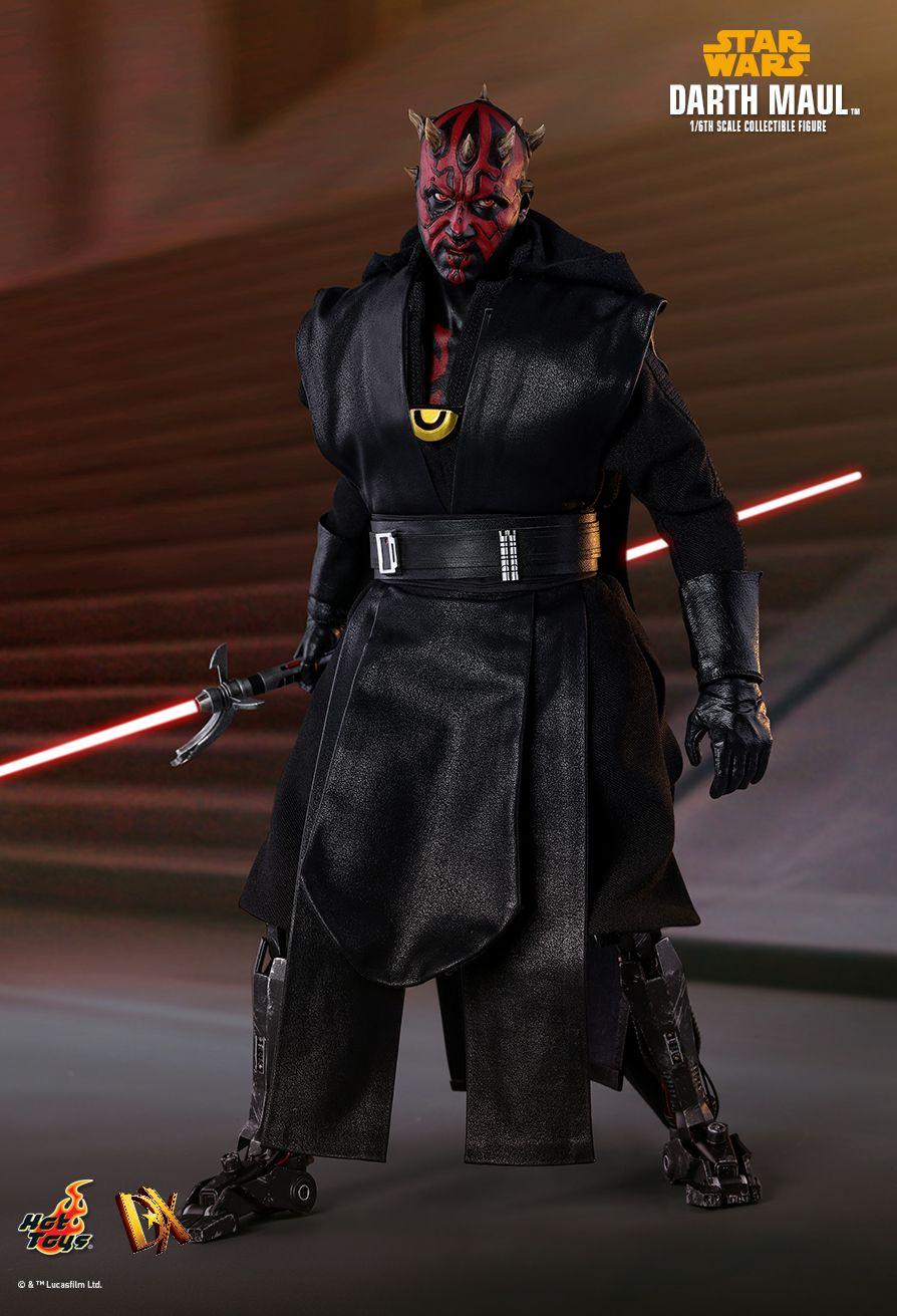 Maul Hot Toys Dx18 Darth Maul Star Wars Villains Star Wars Sith Lords