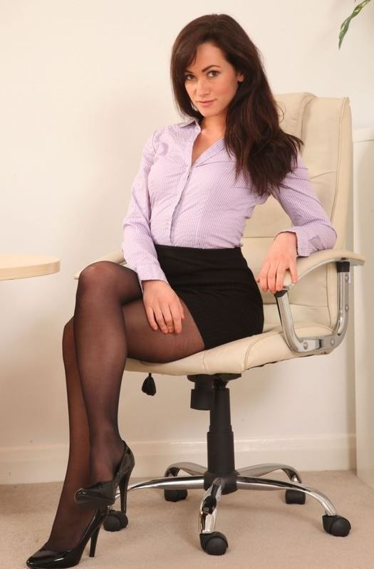 legs short skirt Office secretary
