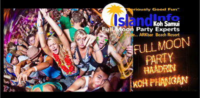 Island Info, Koh Samui are the Full Moon Party experts