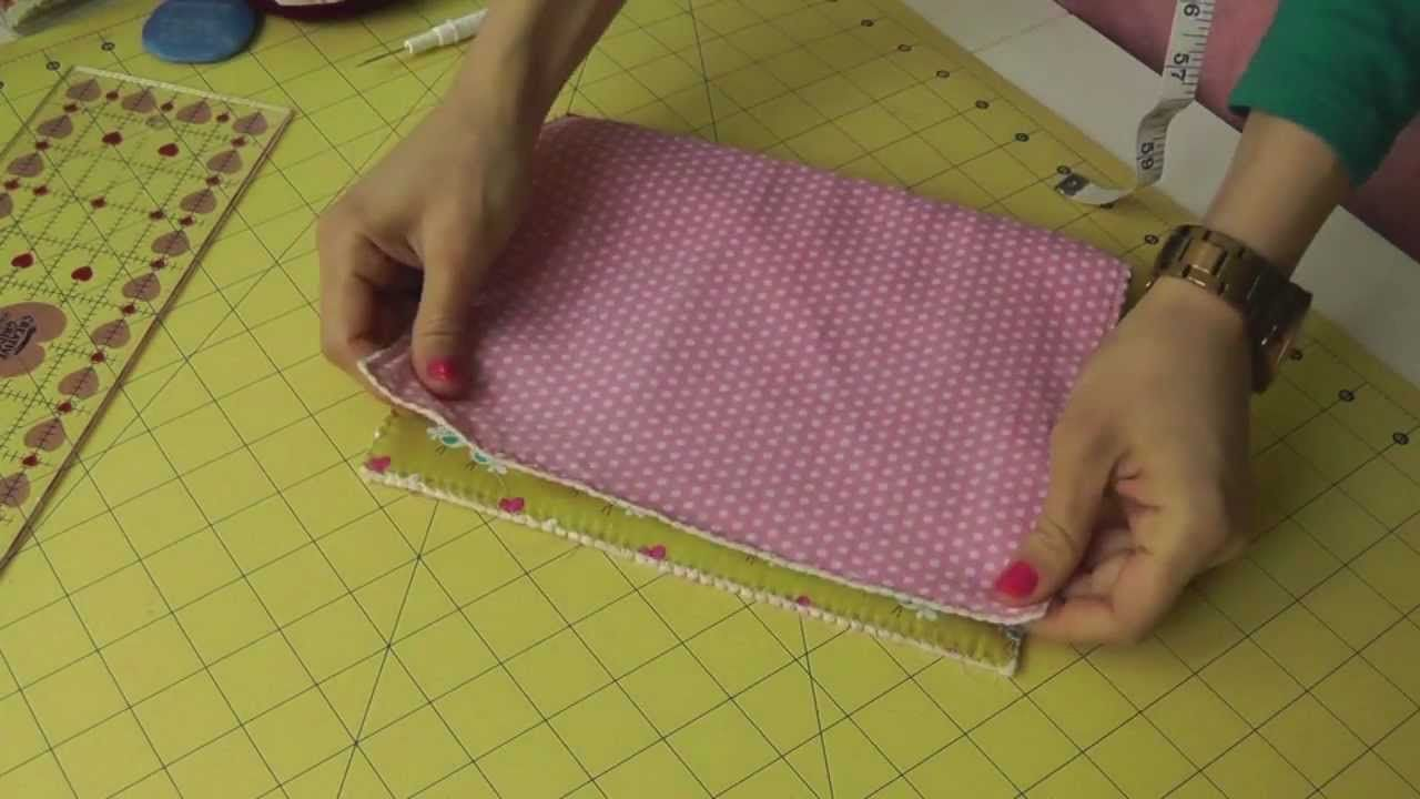 Tela Para Exterior Living The Crafts Tutorial De Como Hacer Y Coser Un Neceser