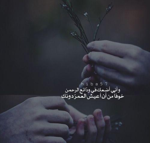 استودعتك الله Words Love Words Arabic Love Quotes