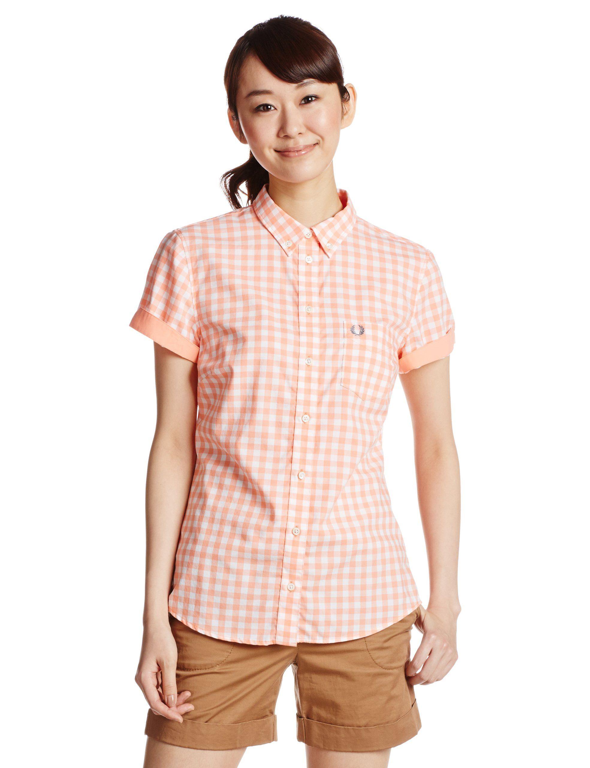 Amazon.co.jp: (フレッドペリー)FRED PERRY Classic Slim Fit Gingham Shirt: 服&ファッション小物  (via http://www.amazon.co.jp/gp/product/B00BP4UA1E/ref=pe_1021872_166761152_pe_epc__1p_0_ti )