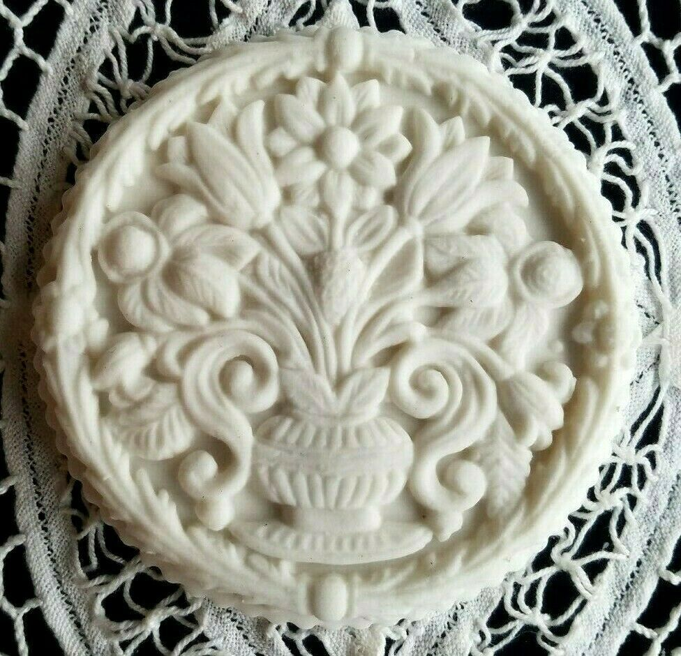 RARE GERMAN CERAMIC Springerle Butter Cookie Stamp Mold