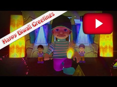 Happy Diwali | Fireworks | Diwali Greetings | Diwali Festival Greetings Youtube Videos