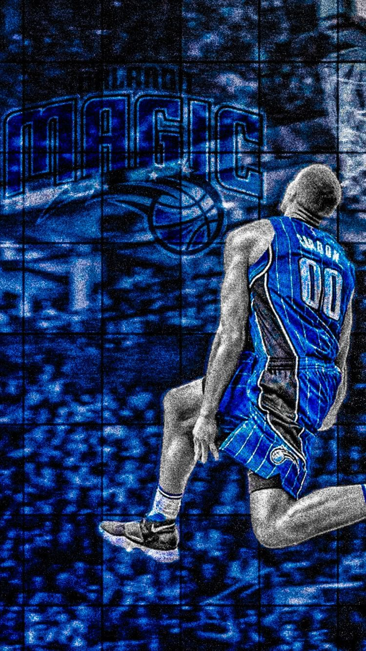 Aaron Gordon Basketball Iphone Wallpaper Iphone Wallpaper Nba