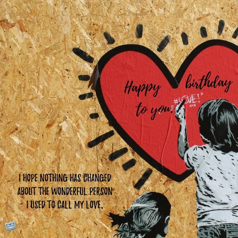 Birthday wishes and poems for my exgirlfriend birthday