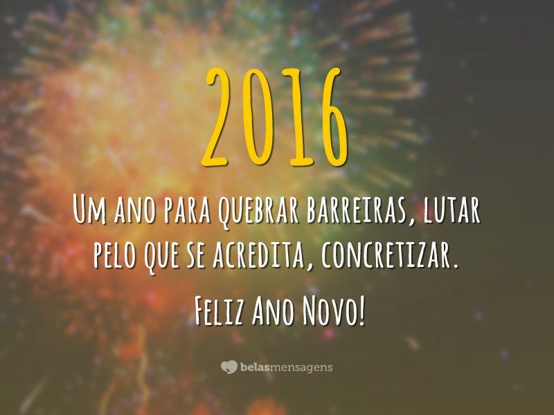 Sms ano novo