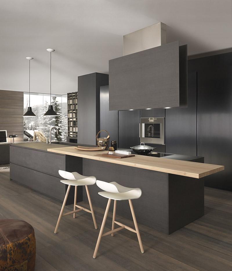 Kookeiland van keuken blade van modulnova keukens kookeilanden gespot door uwwoonmagazine - Outs studio keuken ...