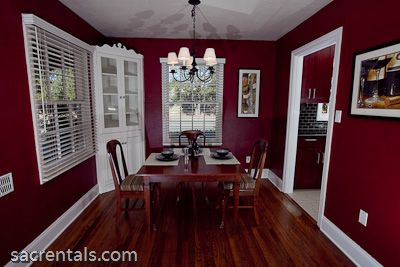 Want this color for red wine walls