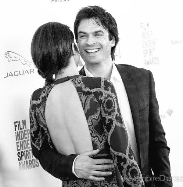 Nikki and Ian Somerhalder at Film Independent Spirit Awards on Saturday,  February 27, 2016 in Santa Monica, CA