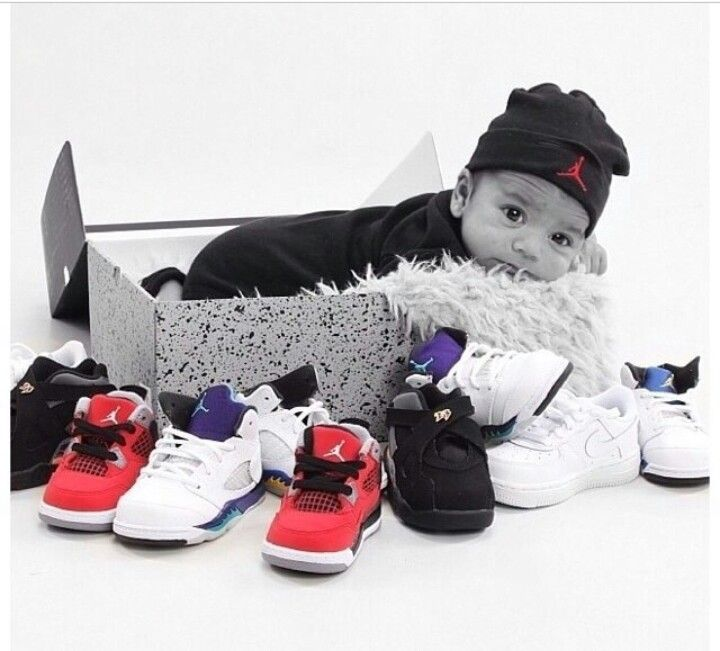 Baby & Jordans, I'm sooo doing this if I have another boy! i would do this  with my child because im a shoe collector and i would enjoy for my child to  ...