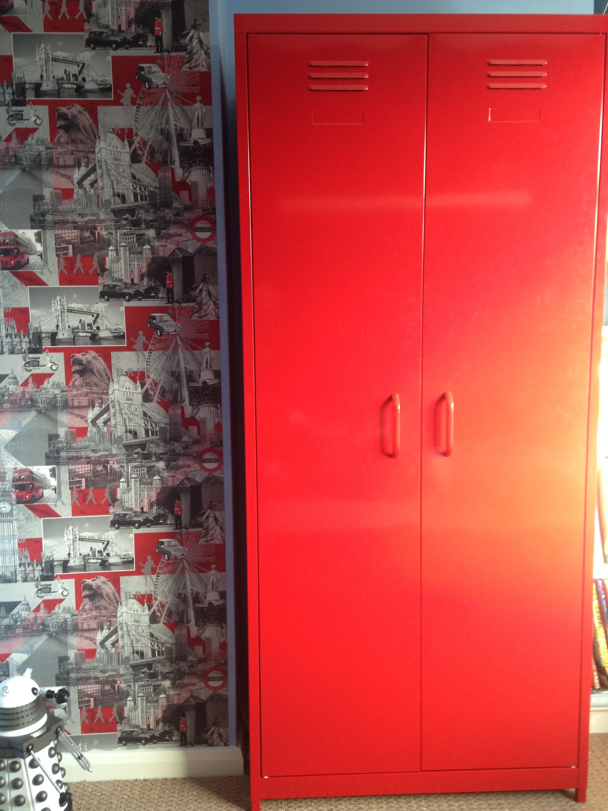 Exceptionnel Red U0027lockeru0027 Wardrobe From ...