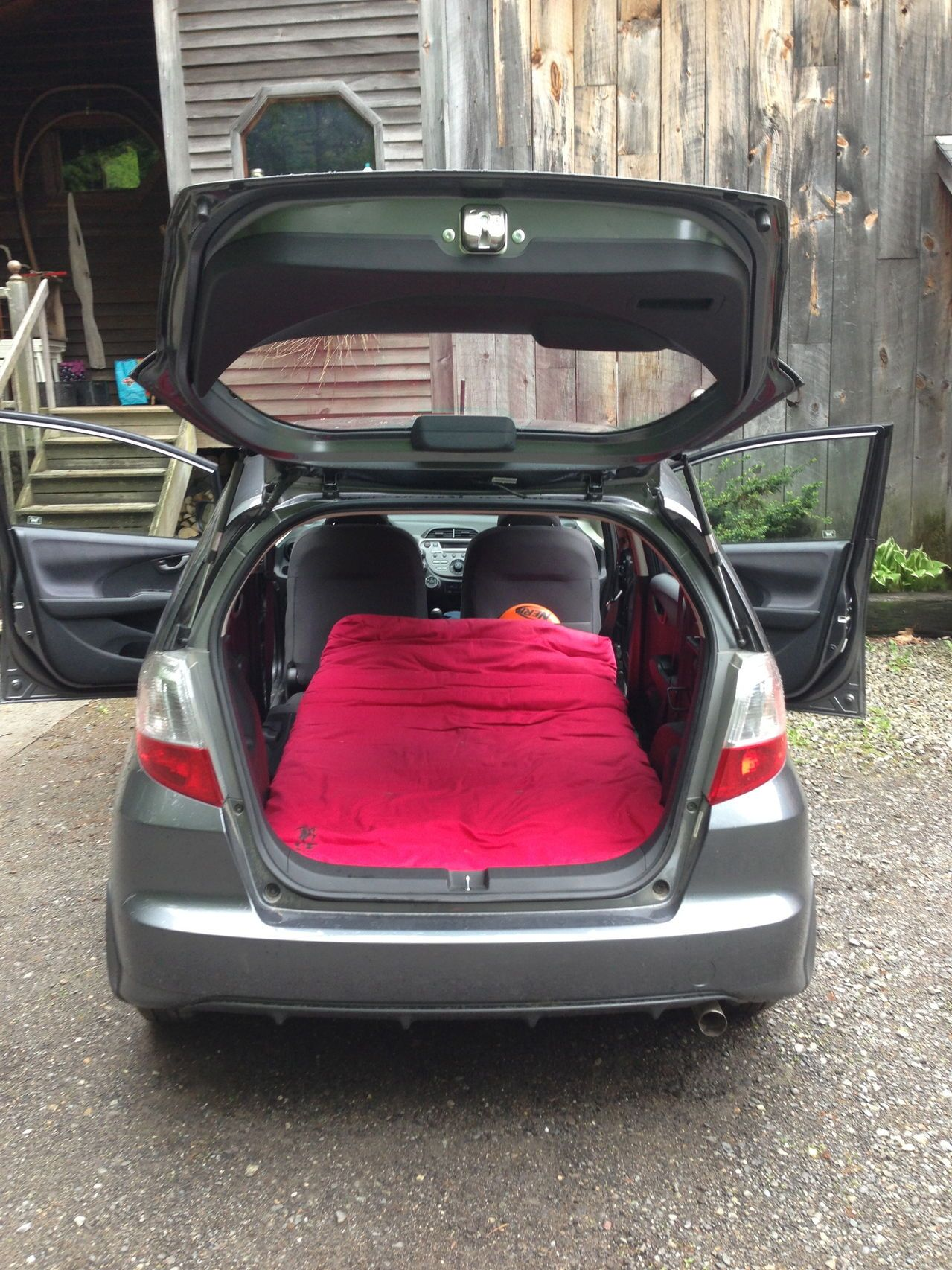 A journey towards camping in my '13 Fit - Unofficial Honda FIT Forums