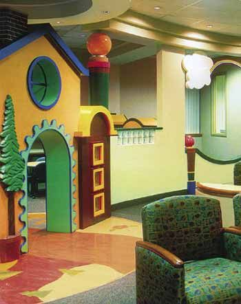 Children S Hospital Play Area This Unique Concept In