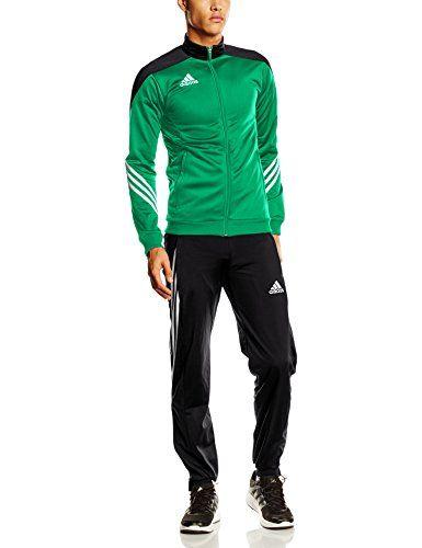 adidas trainingsanzug grün gold