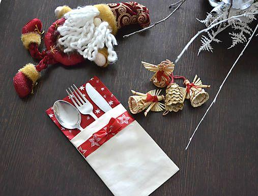 dobryobchod / SMILE: Vianočné prestieranie na príbor