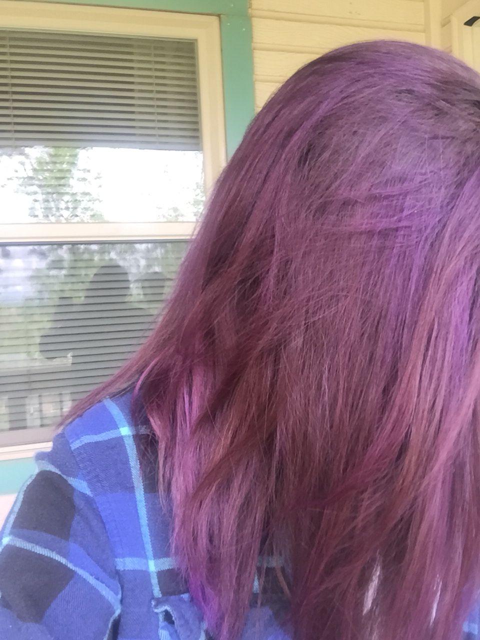 Manic Panic Ultra Violet And Purple Haze Purple Hair Goals