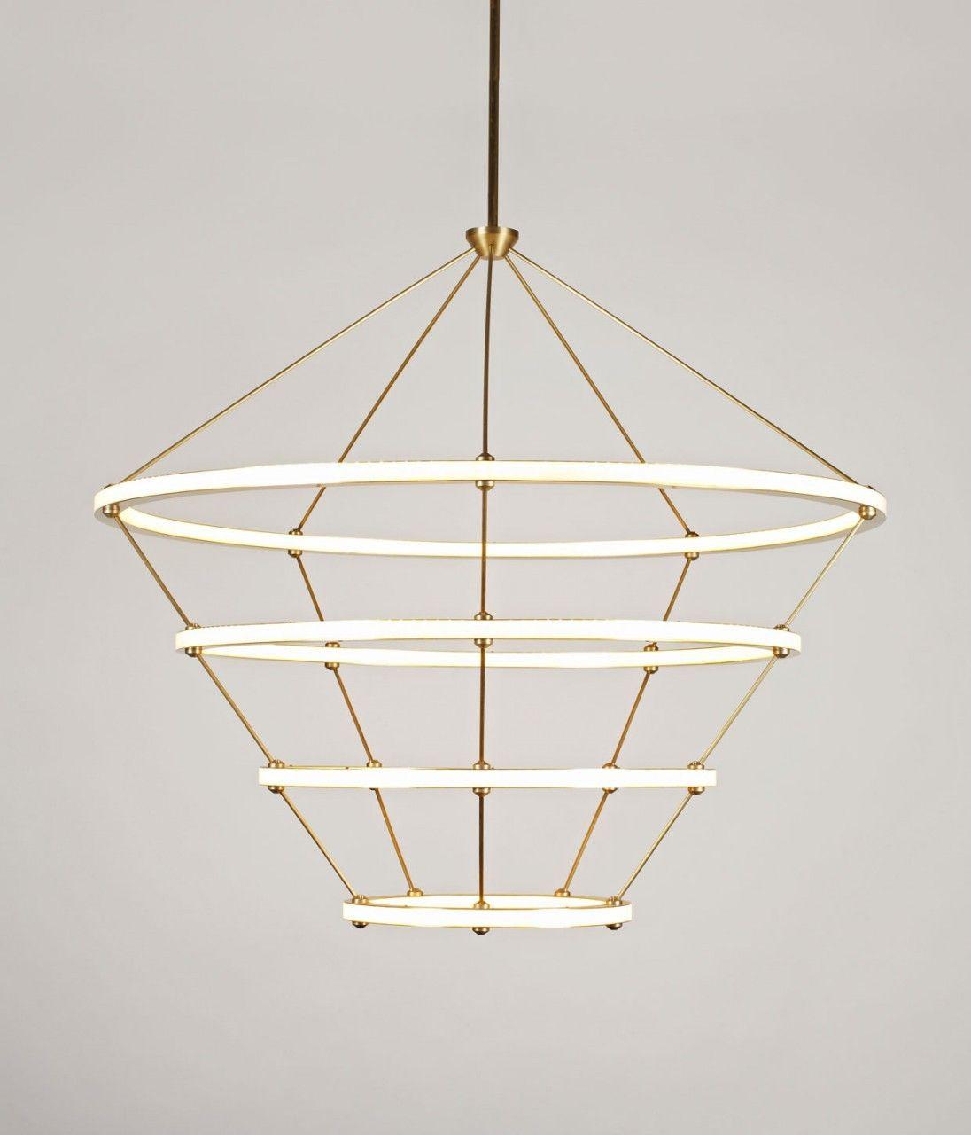 Halo chandelier roll hill licht pinterest - Kronleuchter stehlampe ...