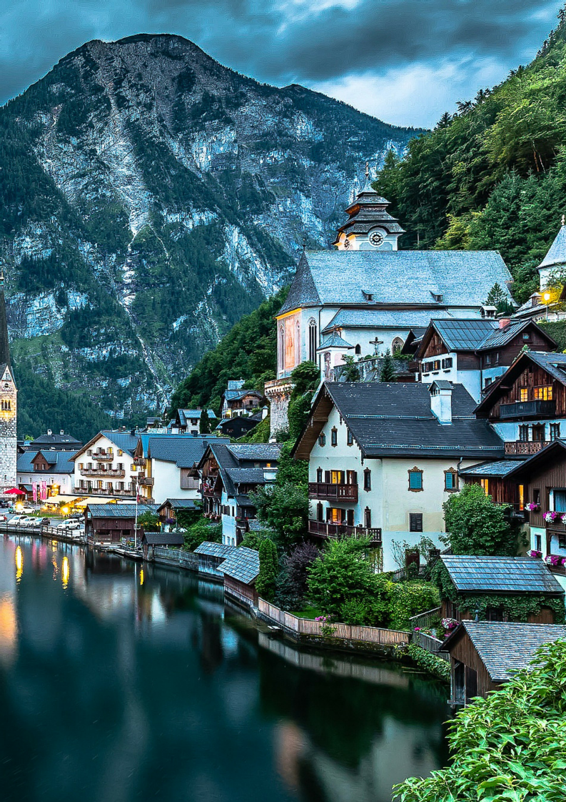 25 Of The Most Beautiful Villages In The World Austria Beautiful Places And Wanderlust