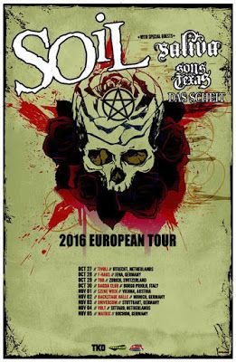 Long Live The Loud 666: SOIL,SALIVA,SONS OF TEXAS,DAS SCHEIT 2016 EUROPEAN...