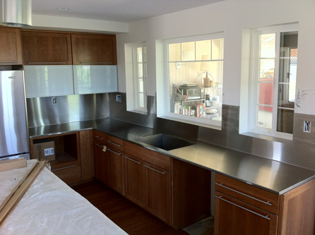 Custom Residential Stainless Steel Counter Tops In San Diego Stainless  Steel Countertops, Stainless Steel Fabrication