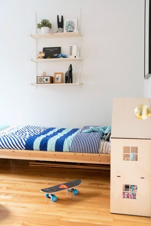 Simple, lovely shared room