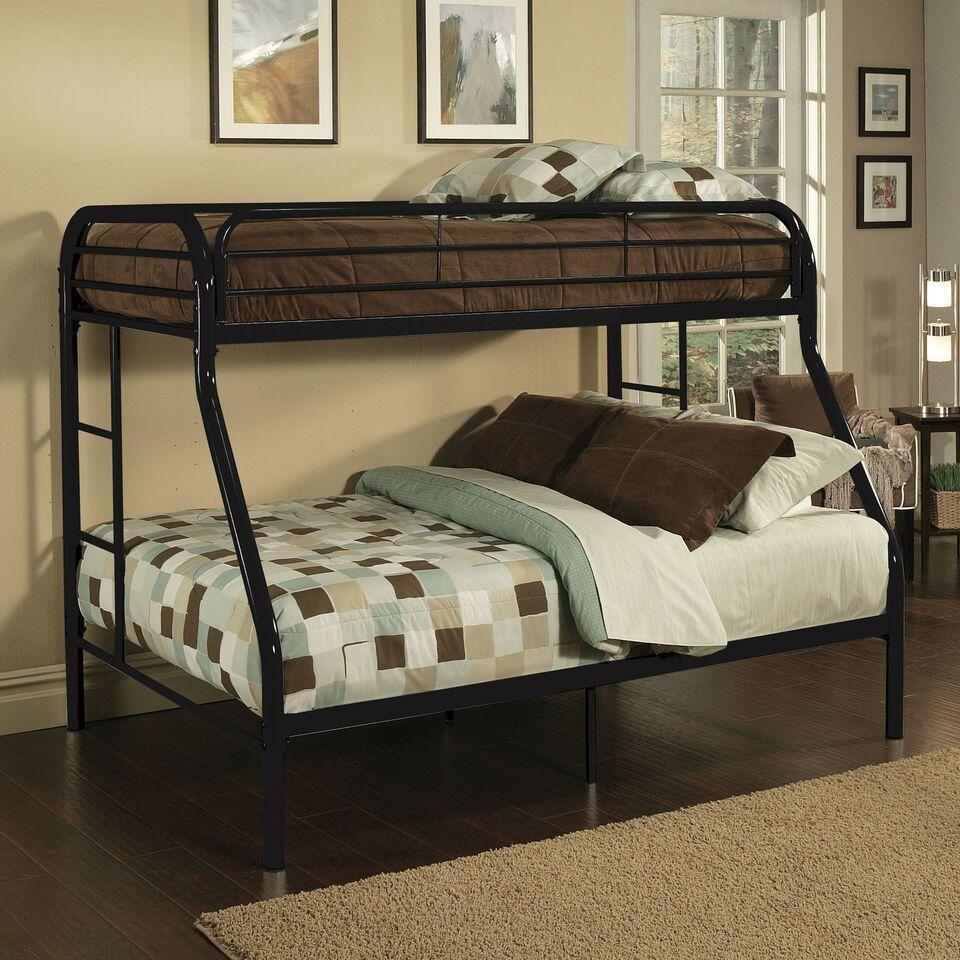 Acme Tritan 02052 Black Twin XL over Queen Bunk Bed