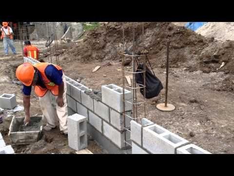Bloques De Hormigón Colocación De Los Bloques Aabh Youtube Bloques De Cemento Bloque De Hormigon Disenos De Unas