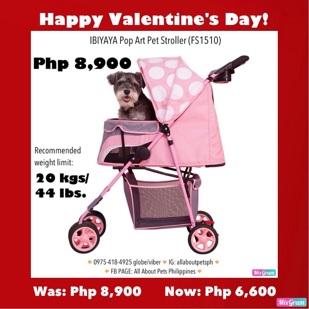 Ibiyaya Pop Art Pet stroller (FS1510) Was Php8900 Now