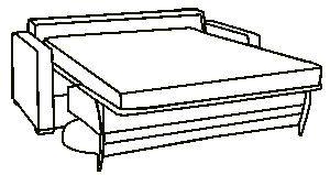 Dauerschlafer Schlafsofa Sortiment Sofa