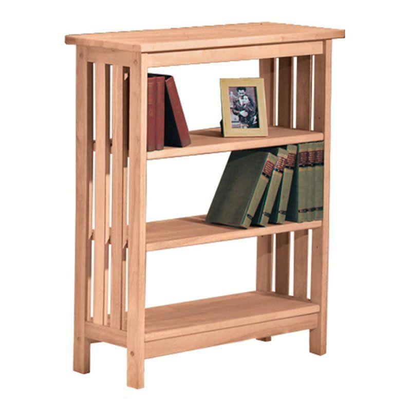 International Concepts 3 Shelf Mission Bookcase Sh 3630m
