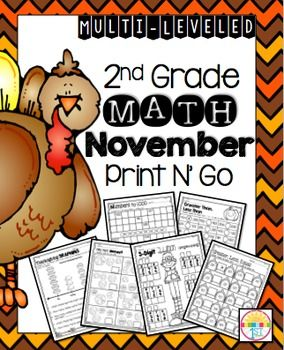 These adorable pages are a fabulous supplement any math program. Just Print, N' Go!!These pages can be used for additional practice, homework or as an assessment. There are multiple levels to help you meet the needs of your students. For additional practice:2nd Grade Math Yearly Review Print N' Go2nd Grade Winter Print N' Go Odd and Even Numbers/ Place ValueSeptember Print N' Go Odd and Even Numbers/ Place ValueOctober Print N' Go Fluency FactsOdd and Even Numbers to 20Odd and Even Numbers…
