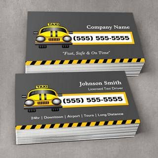 create your own taxi business cards online all templates. Black Bedroom Furniture Sets. Home Design Ideas