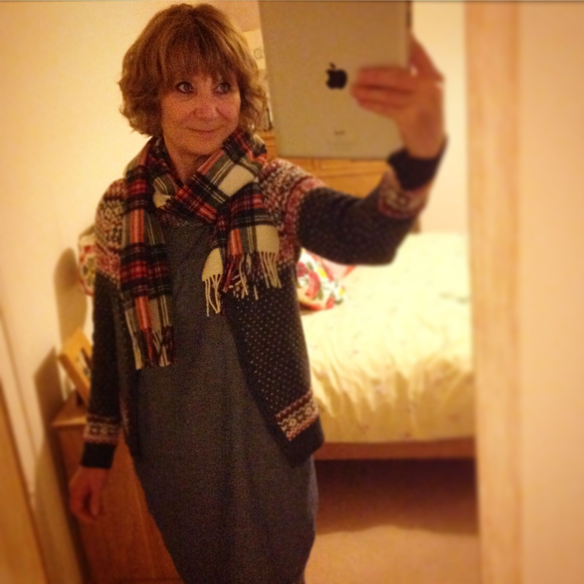 The Hygge look. Cosy winter layering.