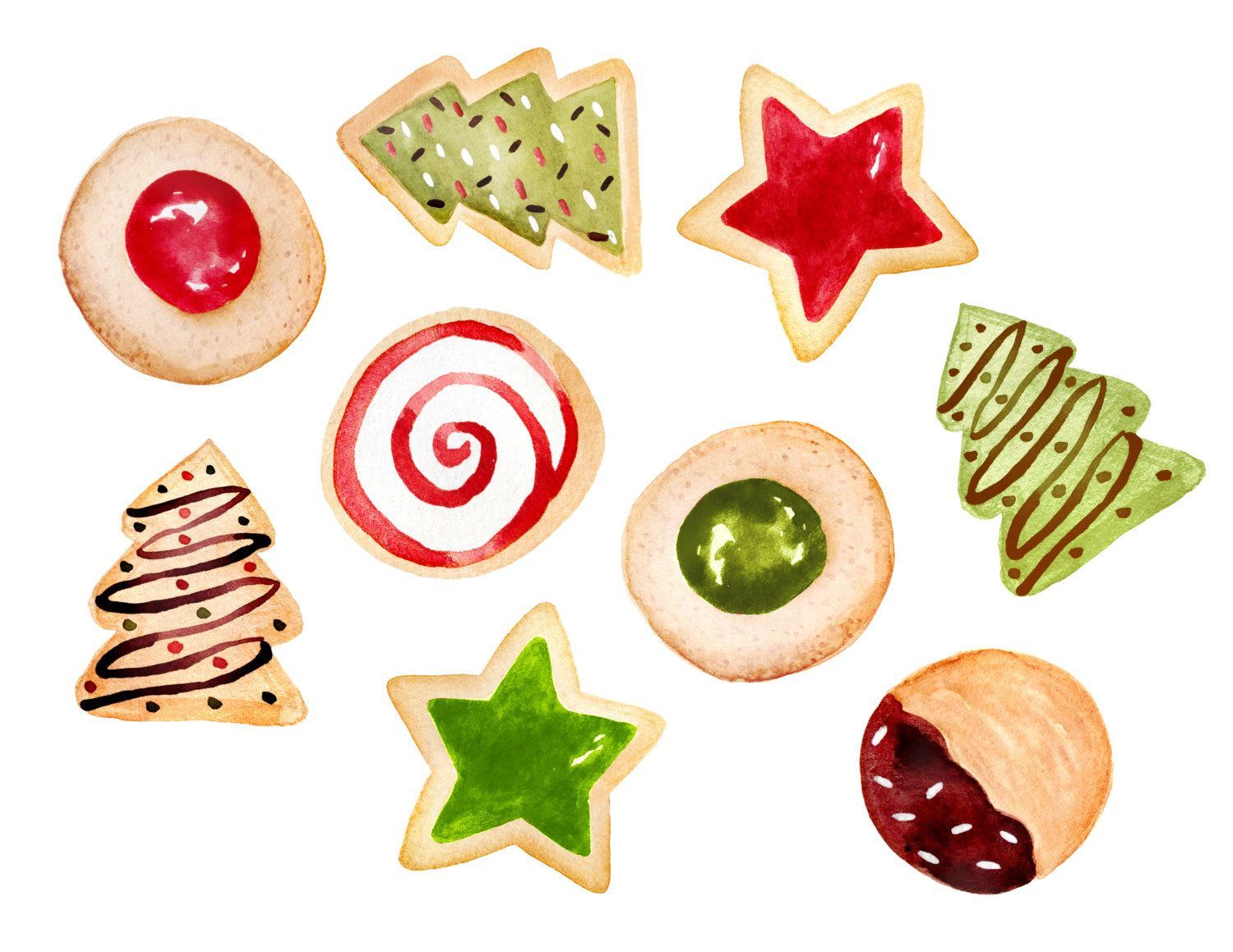 Christmas Cookies By Rosabebe Retail 6 50 On Sale For 1 95 70